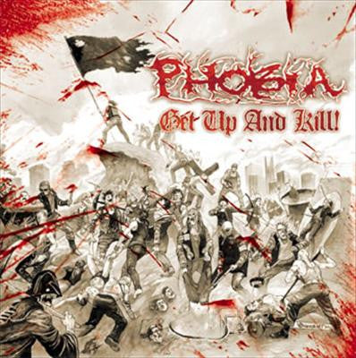 PHOBIA- 'Get Up And Kill' LP - Deep Six - Dead Beat Records