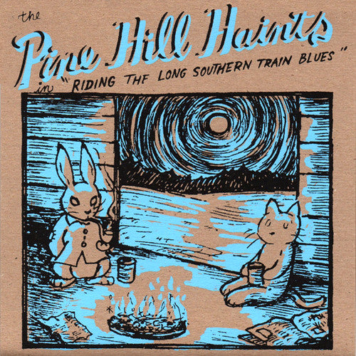 "Pine Hill Haints- Riding The Long Southern Train Blues 7"" ~RARE GREY WAX! - Arkam - Dead Beat Records"