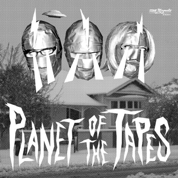"Planet Of The Tapes- Live At the Castle Takeaway 7"" ~THE MUMMIES - Stink Magnetic - Dead Beat Records"
