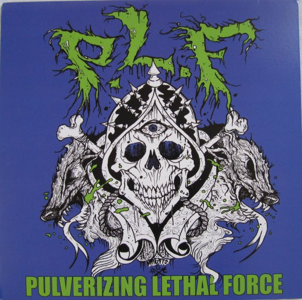 PLF- 'Pulverizing Lethal Force' LP - Cutthroat - Dead Beat Records