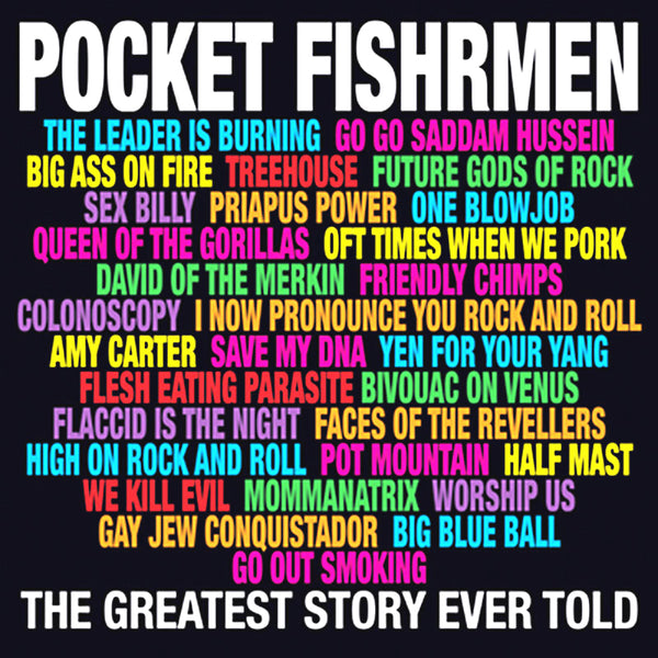 Pocket Fishermen- Greatest Story Ever Told LP ~GATEFOLD COVER!