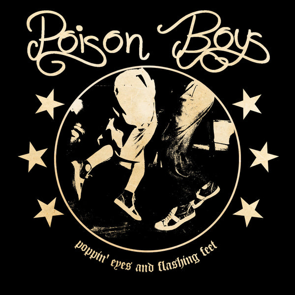 "Poison Boys- Poppin' Eyes And Flashing Feet 7"" ~KILLER / NEW YORK DOLLS!"