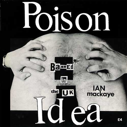 Poison Idea- Ian McKaye LP - Unknown - Dead Beat Records