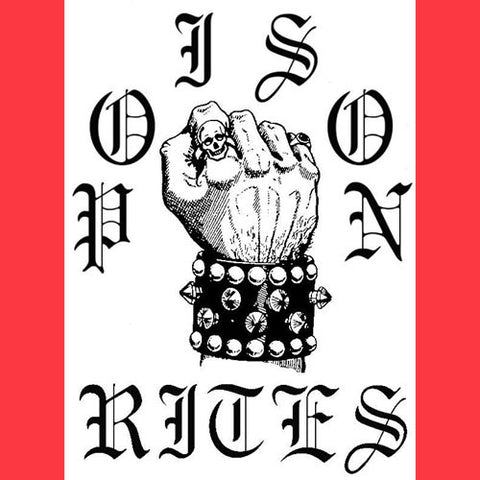 Poison Rites- S/T CS ~EX SPEEDWOLF! - Heavy Dose - Dead Beat Records