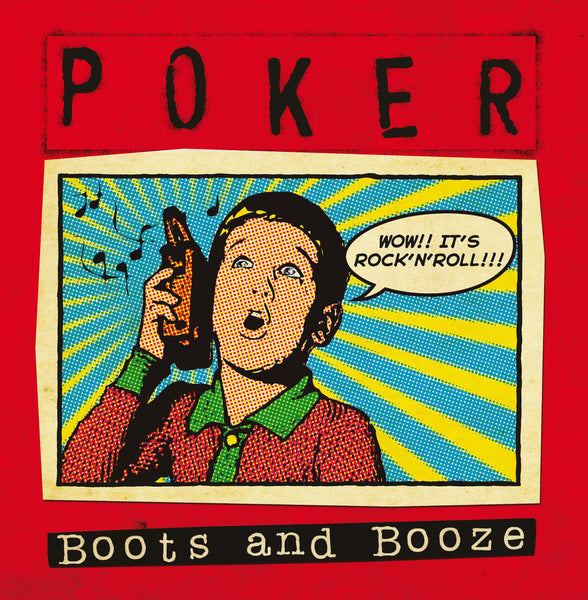 "Poker - Boots and Booze 7"" ~ALLEYCATS!"