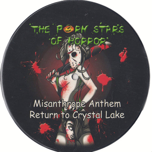 "Porn Stars Of Horror/Potbelly- Split 7"" ~PICTURE DISC!"
