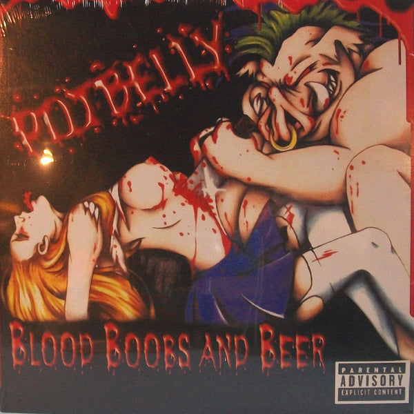 Potbelly- Blood Boobs and Beer LP ~CRUMBSUCKERS!