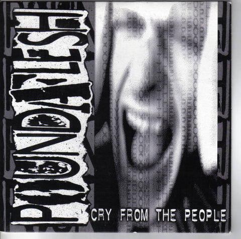 "Poundaflesh- Cry From The People 7"" ~EX CONCRETE SOX! - Strongly Opposed - Dead Beat Records"