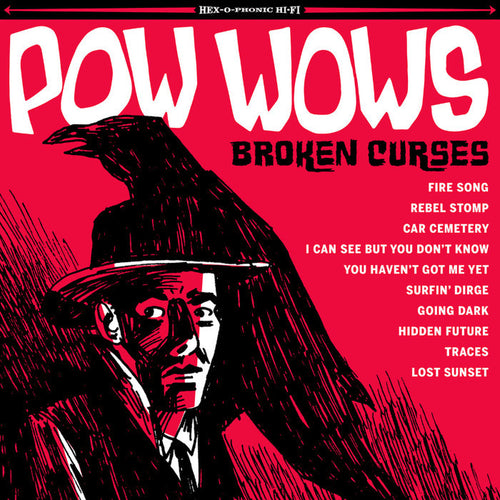 Pow Wows- Broken Curses CD ~DOWNLINERS SECT!