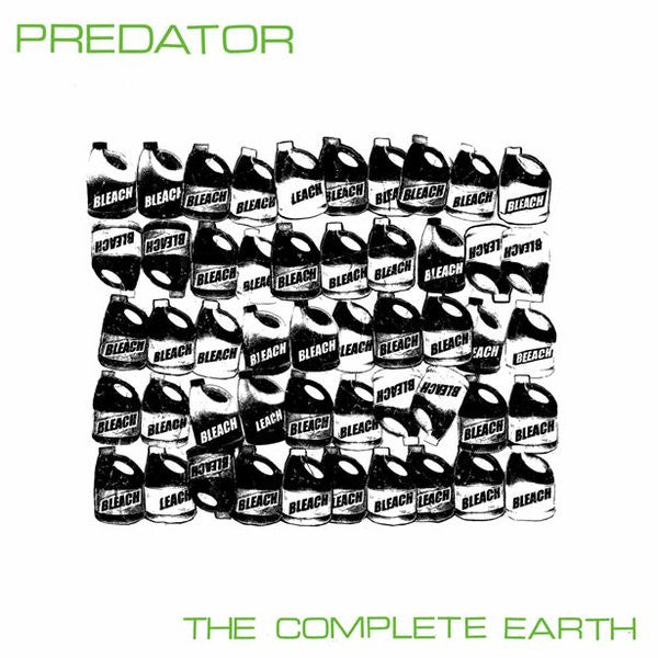 Predator- The Complete Earth LP ~EX BEAT BEAT BEAT! - Scavenger Of Death - Dead Beat Records