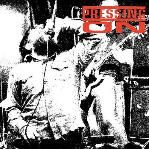 Pressing On- No Defeat No Capitulation LP ~EX TALK IS POISON! - Even Worse - Dead Beat Records