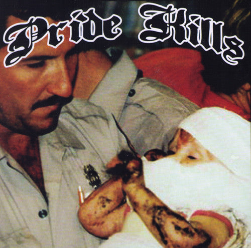 "Pride Kills- S/T 7"" ~RARE BROWN WAX!! - Cutthroat - Dead Beat Records"