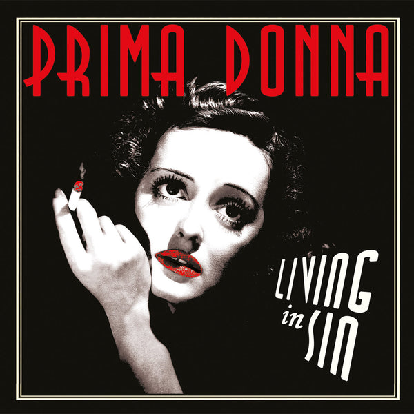 "Prima Donna- Living In Sin 7"" ~100 PRESSED ON BLACK WAX! - Wanda - Dead Beat Records"