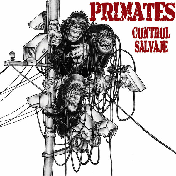 "Primates- Control Salvaje 7"" ~THE FIX!"