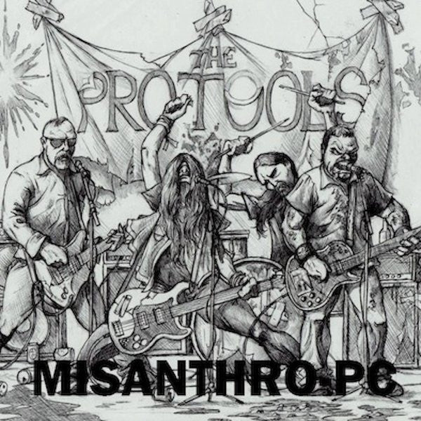 "The Pro-Tools- Misanthpro PC 7""  ~EX EXPLODING WHITE MICE! - Conquest Of Noise - Dead Beat Records"