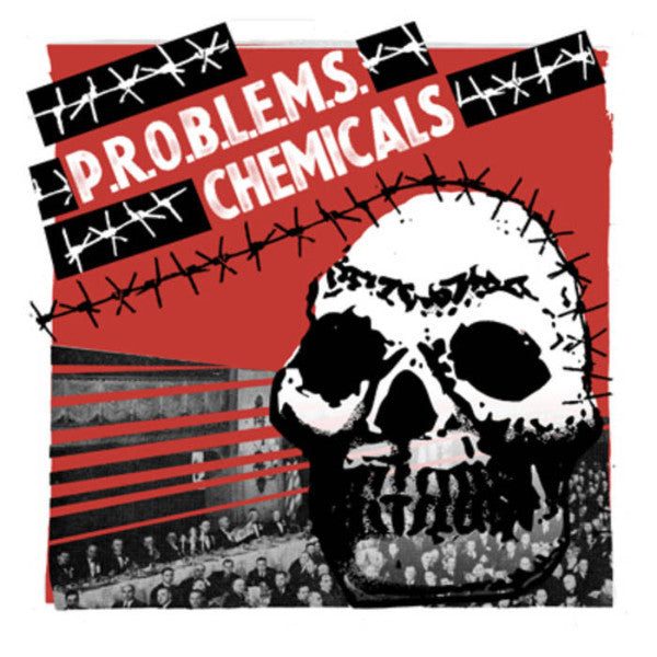 "P.R.O.B.L.E.M.S./Chemicals- Split 7"" ~SILK SCREENED COVERS! - Taken By Surprise - Dead Beat Records"