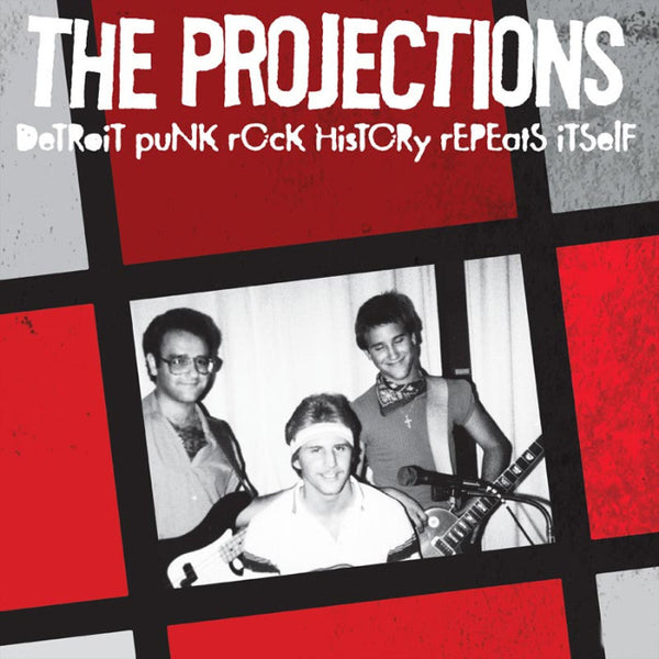 "Projections- Detroit Punk Rock Repeats Itself 7"" ~REISSUE!"