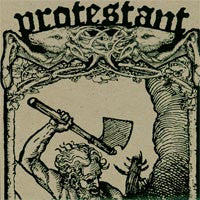 "Protestant- Antagonist 7"" - Band - Dead Beat Records"