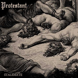 "PROTESTANT- Stalemate 10"" - Halo Of Flies - Dead Beat Records"