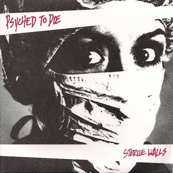 "Psyched To Die - Sterile Walls  7"" ~EX THE ERGS!"