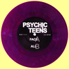 "Psychic Teens- Face 7"" ~RARE PURPLE MARBLE WAX!"
