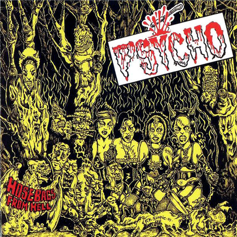 Psycho- Studio Recordings 1982 - 1986 CD ~REISSUE! - Welfare Records - Dead Beat Records - 1