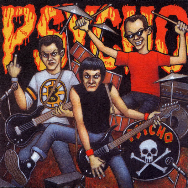 Psycho- '86 - '91 CD + DVD SET ~REISSUE - Ax/ction - Dead Beat Records - 1