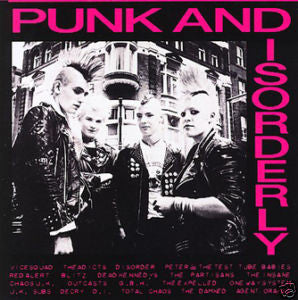 V/A- Punk And Disorderly CD - Posh Boy - Dead Beat Records