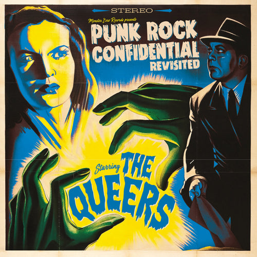 Queers- Punk Rock Confidential Revisited LP ~REISSUE / RARE BLUE WAX!
