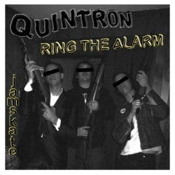 "QUINTRON- Ring The Alarm 7"" - Bachelor - Dead Beat Records"