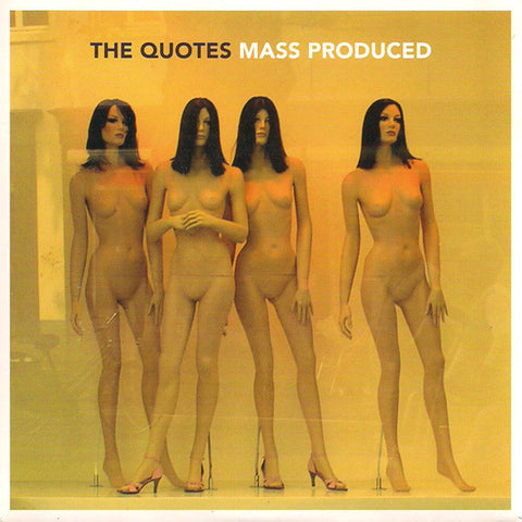 "The Quotes- Mass Produced 7"" ~EX APERS/RAGIN' HORMONES!"