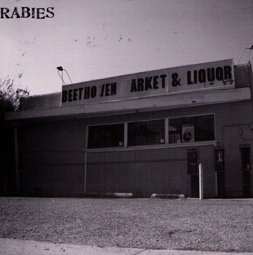 "Rabies- Down The Drain 7"" LTD GRAY WAX!! - Eliminator - Dead Beat Records"
