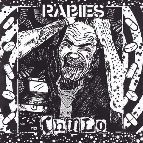 "Rabies/Chulo- Split 7"" ~LTD TO 295 COPIES! - Pogohai - Dead Beat Records"