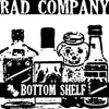 "Rad Company- Bottom Shelf 7"" ~300 PRESSED! - Rad Girlfriend - Dead Beat Records"