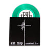 "Rat Trap- Constant Fear- Split 7"" ~RARE GREEN VINYL LTD TO 100!"