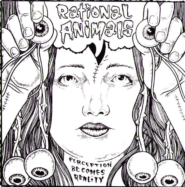 "Rational Animals- Perceptions Becomes Reality 7"" - Feral Kid - Dead Beat Records"