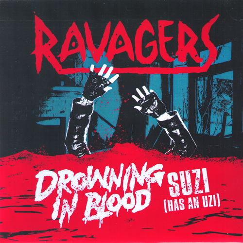 "Ravagers- Drowning In Blood 7"" ~EX BITERS!"