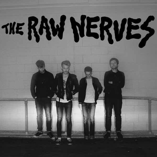 The Raw Nerves- S/T LP ~REATARDS!