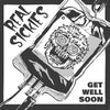 Real Sickies- Get Well Soon LP  ~VERY RARE TEST PRESSING COVER LTD TO 10 COPIES!