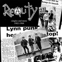Reality- Singles And More 1983 - 1984 LP ~OUT OF PRINT - Pure Punk - Dead Beat Records