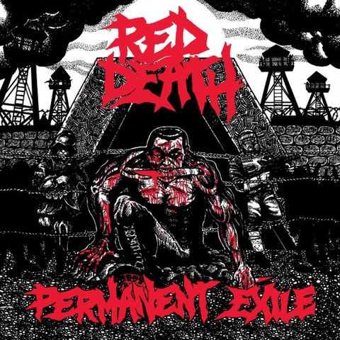 Red Death- Permanent Exile LP ~COC! - Grave Mistake - Dead Beat Records