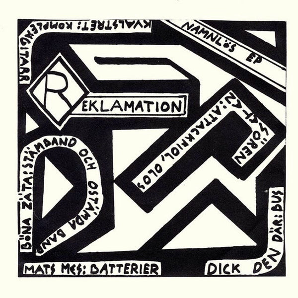 "Reklamation- Namnlös 7"" ~REISSUE / RARE RED WAX!"