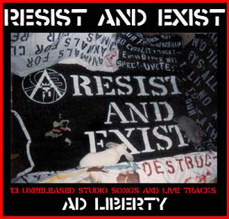 Resist And Exist- Ad Liberty CD - Mass Media - Dead Beat Records