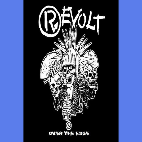 Revolt- Over The Edge CS TAPE~DEVOTCHKAS! - Pogohai - Dead Beat Records - 1