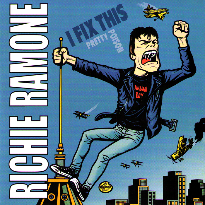 "Richie Ramone- I Fix This 7"" ~EX RAMONES, FEEDERZ, PAGANS!"