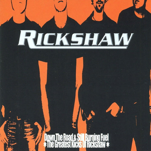 Rickshaw- Down The Road & Still Burning Fuel CD ~HELLACOPTERS!
