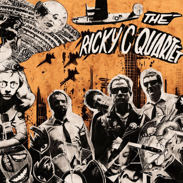 Ricky C Quartet- S/T LP ~ORANGE WAX LTD TO 200!