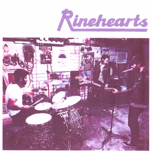 "Rinehearts- S/T 7"" ~RAREST ALTERNATE COVER LTD TO 100!"