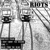 "Riots- Another Train 7"" ~RARE TRANSPARENT RED WAX!"
