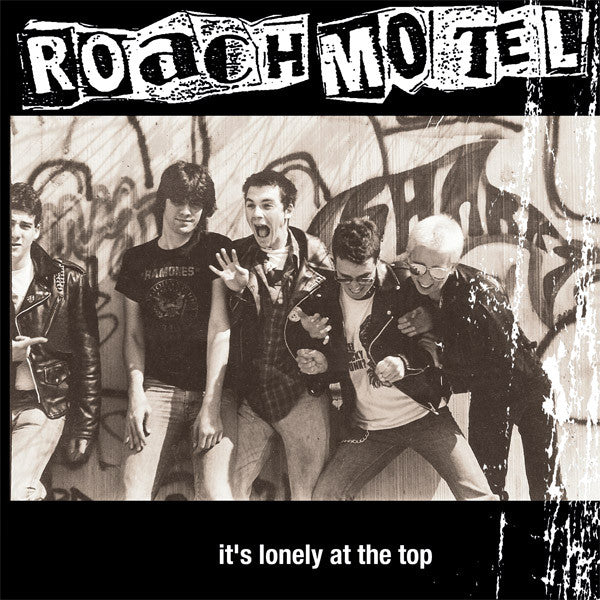 Roach Motel- Lonely At The Top LP ~W/ GEORGE TABB! - Floridas Dying - Dead Beat Records